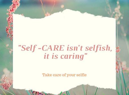 Selfcare is jezelf lief hebben