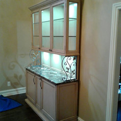 Custom Made Bar Cabinet