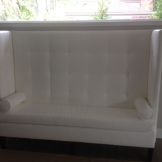 Custom Wing Banquette