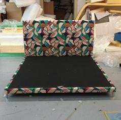Custom Retro Platform Bed