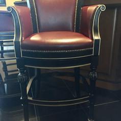 Custom Leather Barstools