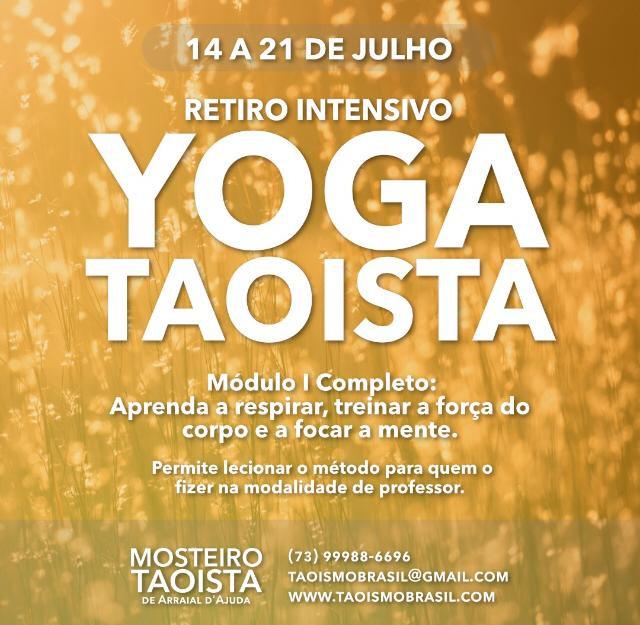 Intensivo - Formação em Yoga Taoista (Da