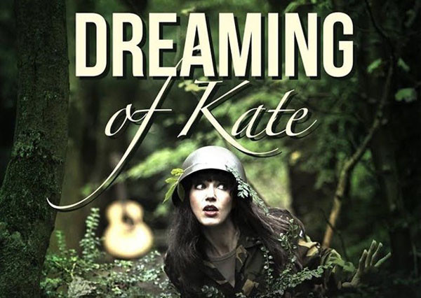 A promotional image of 'Dreaming of Kate' featuring performer Maaike Breijman