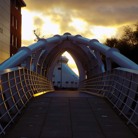 Princes Dock Bridge