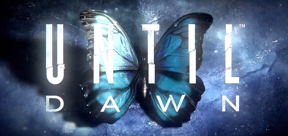 A logo from the 2015 Playstation 4 horror game Until Dawn