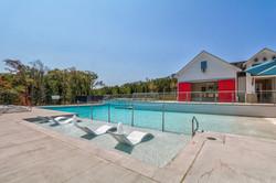 Resort Style Pool + Cabana