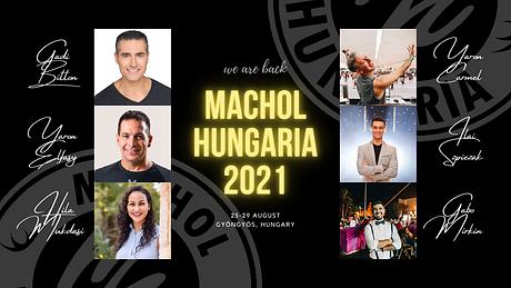 Machol Hungaria 2021 event cover