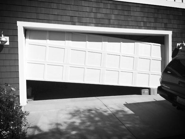 Garage Door Off The Track