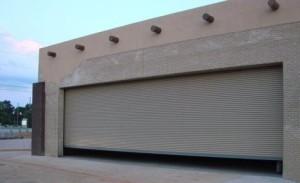 Roll Up commercial door