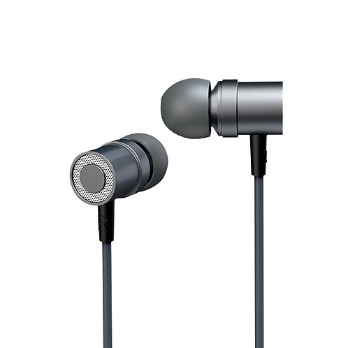 Aluminum Earbuds with In-line Remote and Microphone
