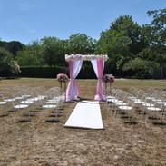 Tonnelle de cérémonie de mariage