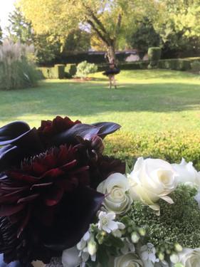 Bouquets noir et blanc