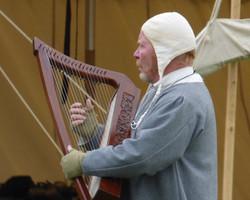 Tom with harp