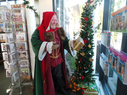Santa and pressies