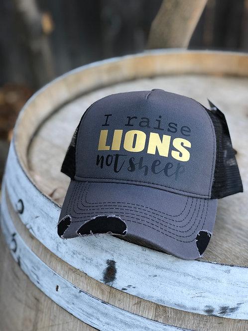 I raise LIONS
