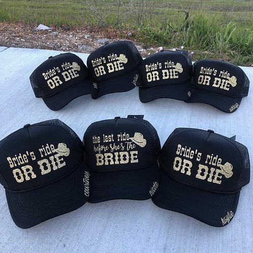 Bride's ride OR DIE