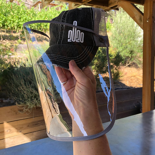 2020 Face Shield Hat
