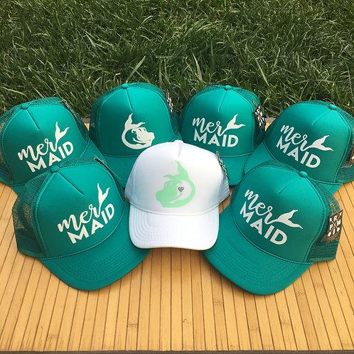 MerMAID Bachelorette Hats