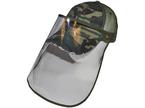 Customize Your Face Shield Hat