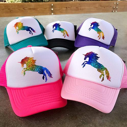 Lil' Ladies love Rainbow Unicorns