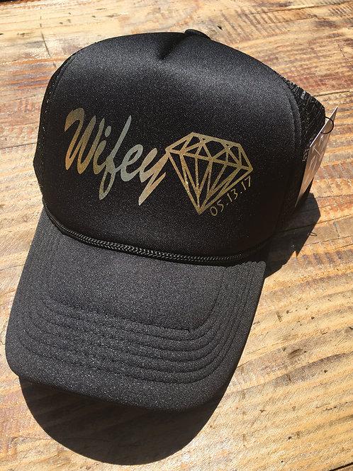 Wifey Diamond with Wedding Date