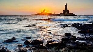 KanyakumariTopTourist Attractions in tamilnadu and All Kerala tourist day tour to there , Kovalam to Kanya kumary tempo traveller need 3 hour