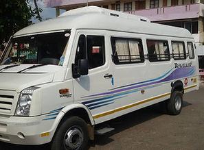26+1 Kerala tourism tempo traveller , Kerala taxi service , tempo traveller