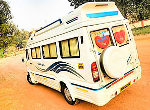 17+1 Kerala tempo traveller rental service , Kerala taxi service , Tempo traveller 17+1 tempo traveller luxury