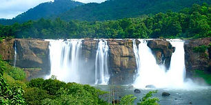 Athirappilly water fall for local Cochin sightseeing tempo traveller need Cochin to Athirappilly 3 Hours Driver