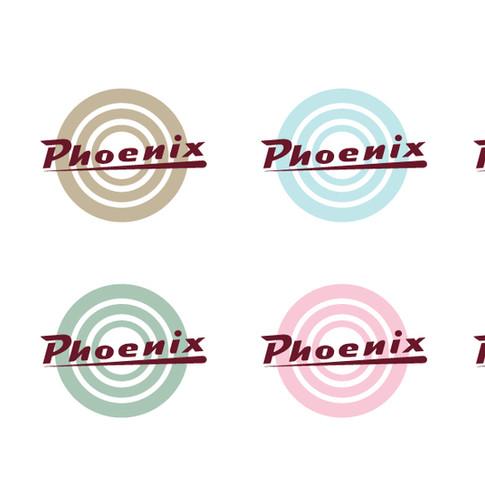 Färgskisser för logotyp