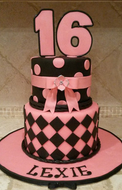 Pink & Black 16