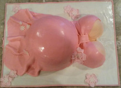 Pink Dress Belly