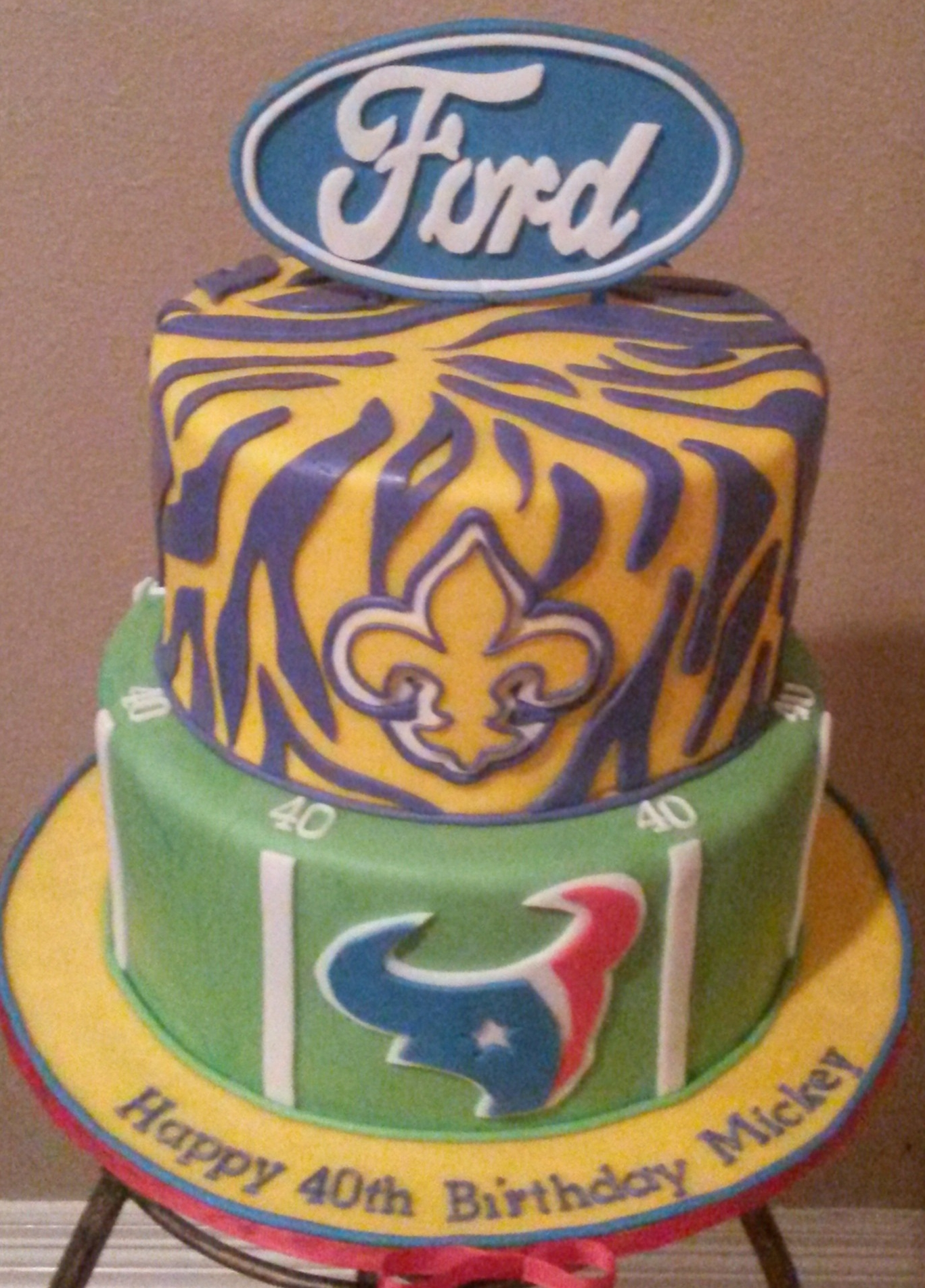 Texans, LSU, Ford and 40