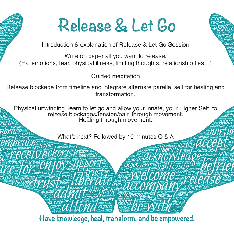 Release & Let Go 12/13