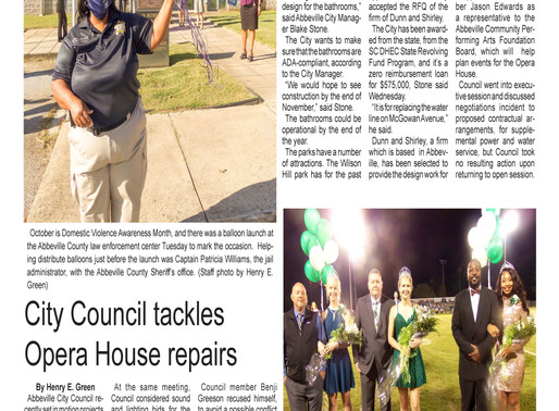 Oct. 21 e-edition ready for viewing
