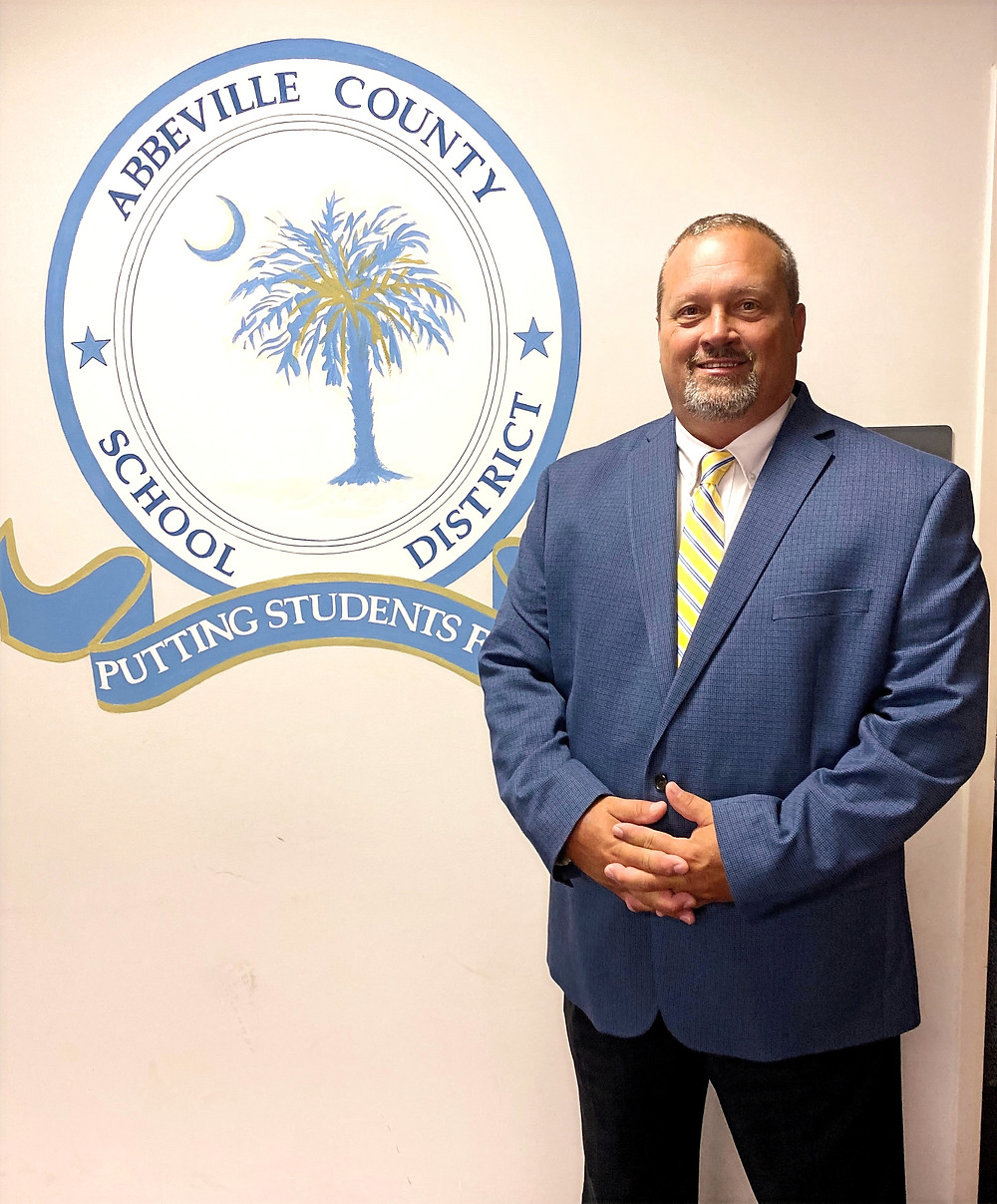 Dr. Charles Mason Gary is the new interim superintendent for the Abbeville County School District
