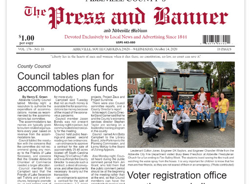 Oct. 14 e-edition ready for viewing