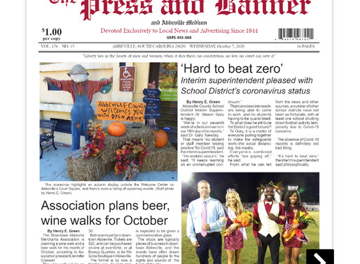 Oct. 7 e-edition ready for viewing