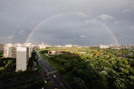 Когда за окном радуга