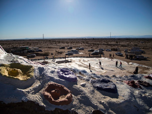 Salvation Mountain + Salton Sea