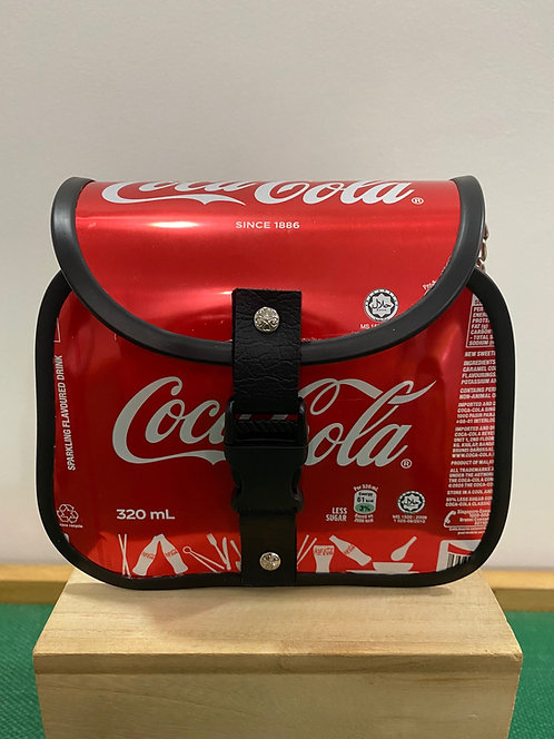 Upcycled Aluminum Can Sling Bag