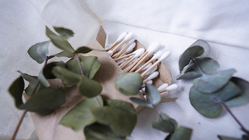 Bamboo Cotton Buds (100 pieces)