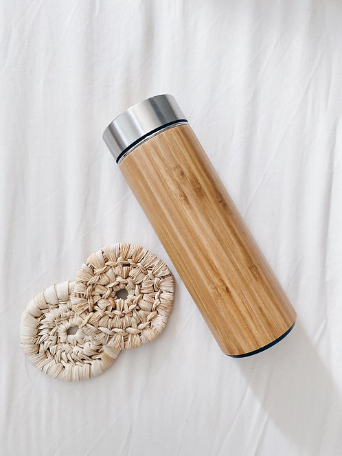 BAM! Series - Bamboo Thermal Flask
