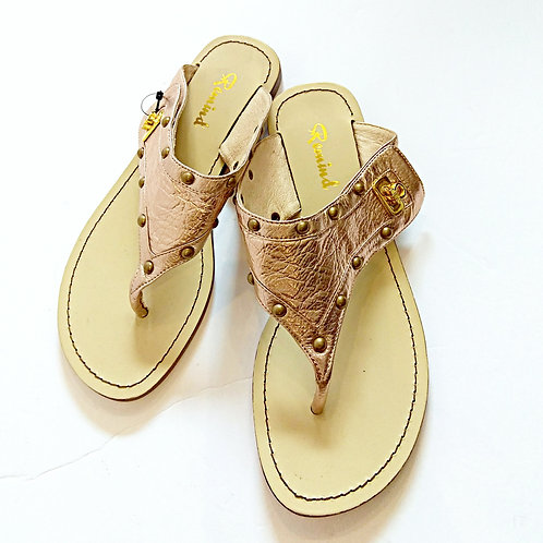 Champagne leather sandals 2238
