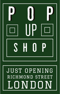 Pop up shop in London location