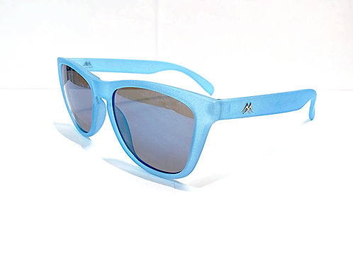 Frosted color polarized ultra light sunglasses