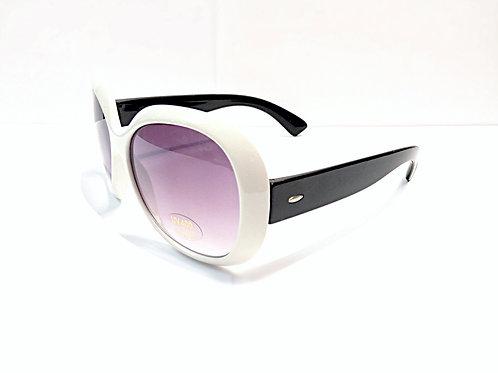 Little kid black and white UV sunglasses