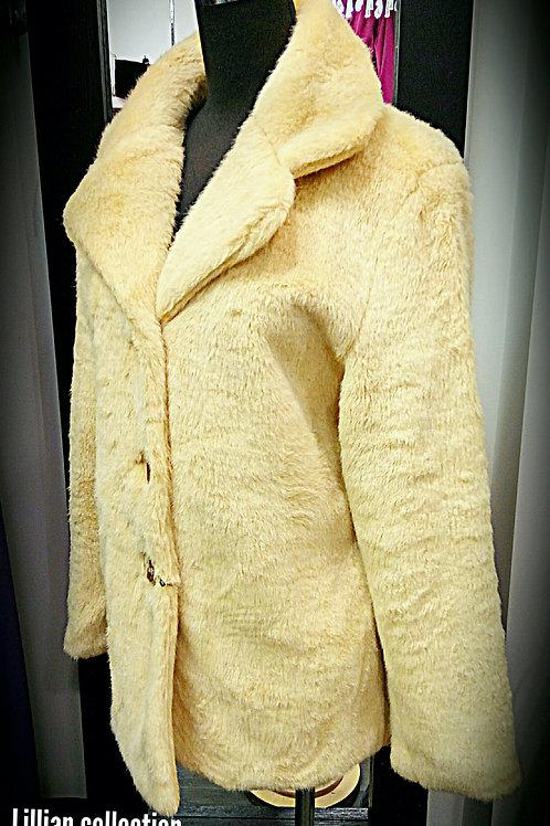 Warmth camel elmo jacket