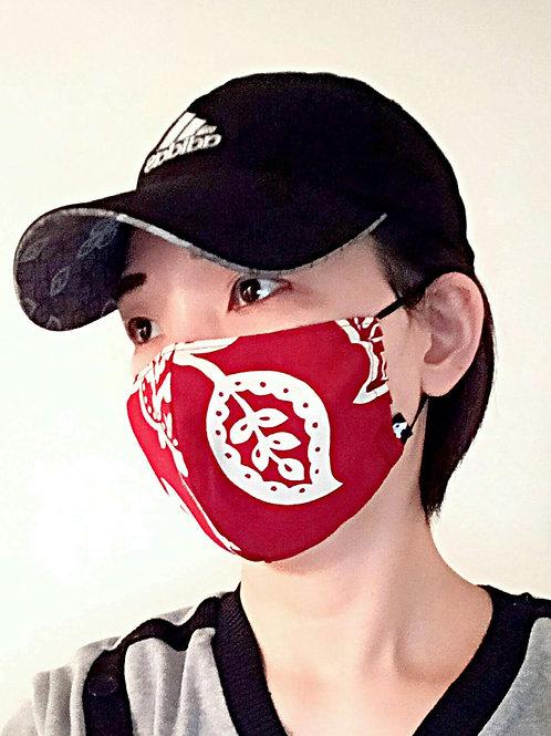 防護舒服貼服高質透氣布料雙層口罩