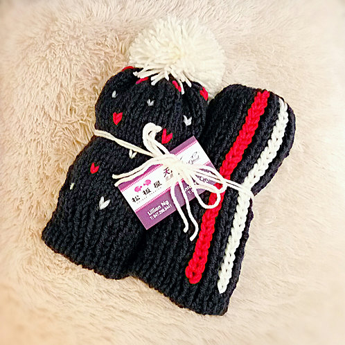 Lover knitting pattern hat